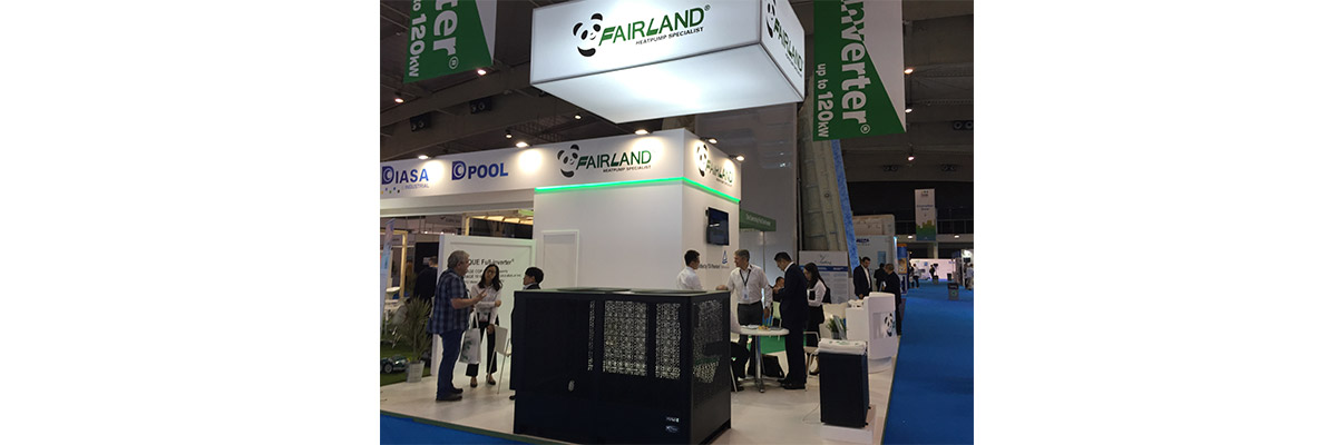 Fairland unique Full-inverter pool heat pump rocked at Piscina & Wellness Barcelona 02 -fairland