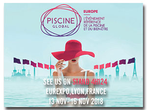 Unique Full-inverter will be shown again at Piscine Global Europe - Fairland R32 Full Inverter Pool Heat Pump Manufacturer and Supplier