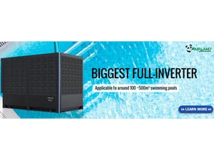 The BIGGEST Full-inverter Swimming Pool Heat Pump Worldwide - Fairland R32 Full Inverter Pool Heat Pump Manufacturer and Supplier
