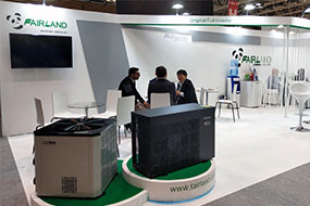 Fairland Shared Original Full-inverter Technology at Piscine Global Europe 2018 - Fairland R32 Full Inverter Pool Heat Pump Manufacturer and Supplier
