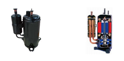 Twin-rotary DC inverter compressor - Fairland Full-inverter Pool Heating Solution NORTH AMERICA