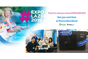 Fairland Full-inverter Pool Heat Pumps Successful Debut at Expolazer & Outdoor Living 2019 - Fairland R32 Full Inverter Pool Heat Pump Manufacturer and Supplier