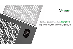 <b>Fairland Design Inspiration: Hexagon - The most efficient shape in the nature</b> - Fairland R32 Full Inverter Pool Heat Pump Manufacturer and Supplier